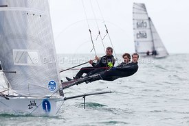 Chameleon 1, 18ft Skiff, Euro Grand Prix Sandbanks 2016, 20160904054
