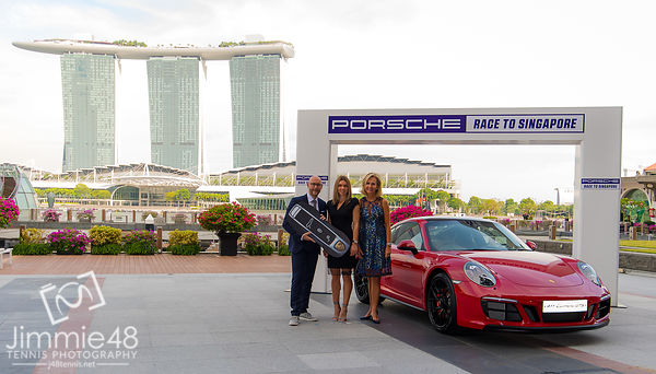 Race To Singapore Car Handover