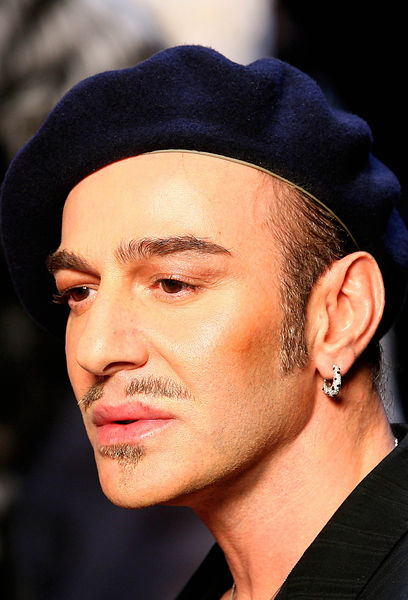 John Galliano  Dior Fashion Designer .