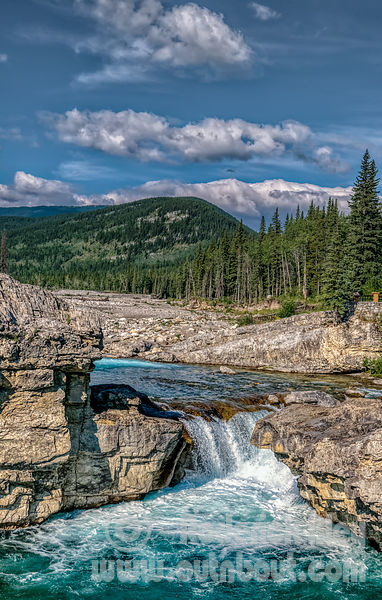 Elbow Falls after the 2013 Flood
