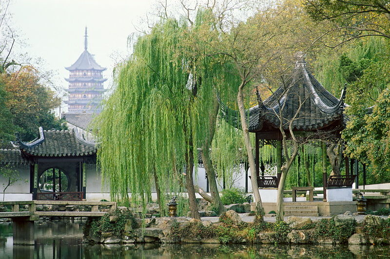 Zhuzheng Yuan (The Humble Administrator's Garden), built in 1509, Suzhou, Jiangsu, China. During the reign of Emperor Zhengde...