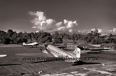 Four in the early morning | South Vietnamese C-47's | RAF Changi November 1962