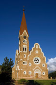 Christus Kirche, Evangelican Lutheran Church, designed by Gottlieb Redecker, in art nouveau and neo-Gothic styles, built betw...