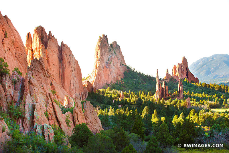 Garden of the Gods Colorado Springs - Color & Black and White - All Photos