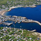 Rockport Harbor And Bearskin Neck, Rockport