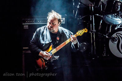 Steve Rothery, guitar, Marillion, Montreal, 2015, Saturday