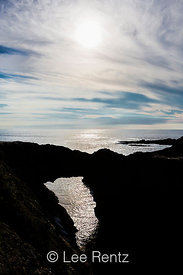 Dramatic Sky Above Mendocino Headlands State Park