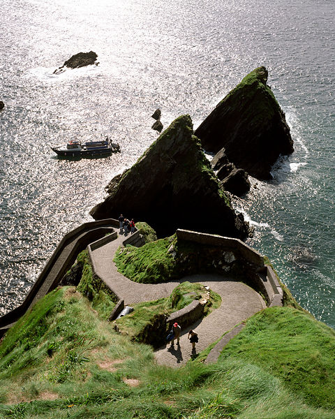 Winding way to Dunquin ferry