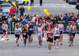 Boston Marathon, Copley Square
