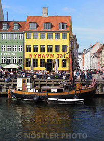Sightseeing in Nyhavn