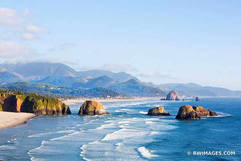 ECOLA STATE PARK AND CANNON BEACH OREGON COAST COLOR