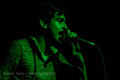 Andy Leo, vocals, Crown The Empire, Sacramento
