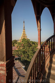 Myanmar, Mandalay, Palais Royal