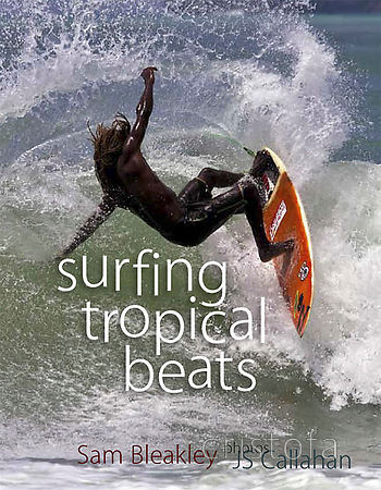the cover of the 'surfing tropical beats' book