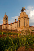 Union Buildings and Delville Wood War memorial, Pretoria, South Africa