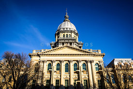 Springfield Illinois State Capitol Building