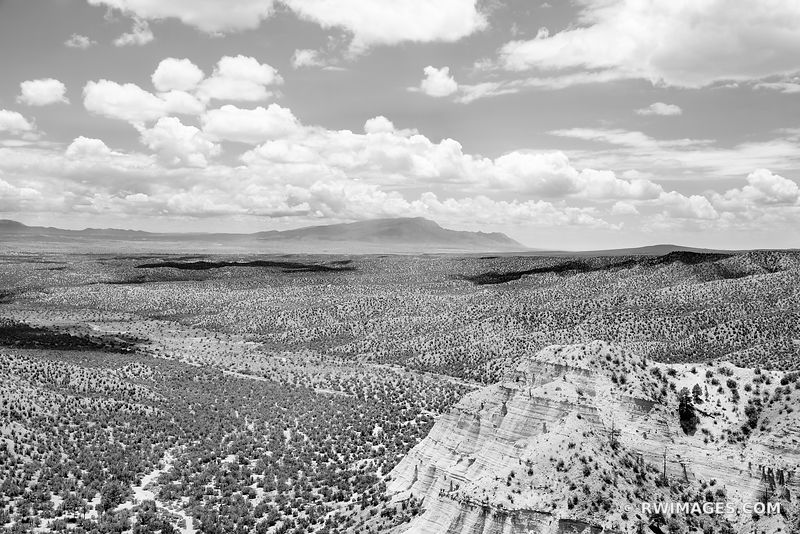 KASHA-KATUWE TENT ROCKS NATIONAL MONUMENT NEW MEXICO BLACK AND WHITE