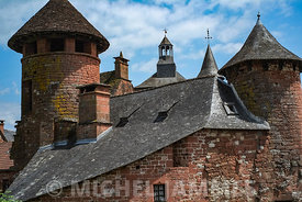Tourelles à Collonges-la-Rouge