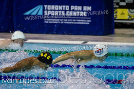 200m Butterfly Men Preliminaries. Ontario Junior International, Day 2, December 15, 2018