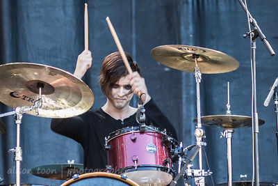 Joshua Ingram, drums, New Years Day