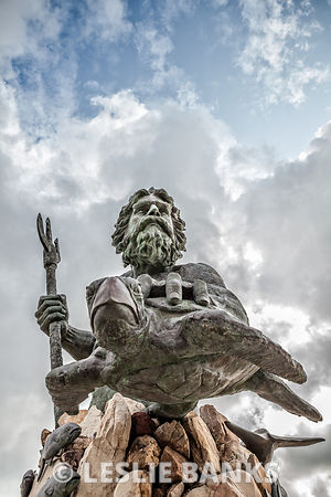 King Neptune Statue Virginia Beach