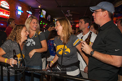 Iowa City Nightlife, Saturday September 8th, 2012; Sports Column Bar, 12 South Dubuque Street  Iowa City, IA (Justin Torner/F...