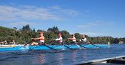 Taken during the World Masters Games - Rowing, Lake Karapiro, Cambridge, New Zealand; ©  Rob Bristow; Frame 1332 - Taken on: ...