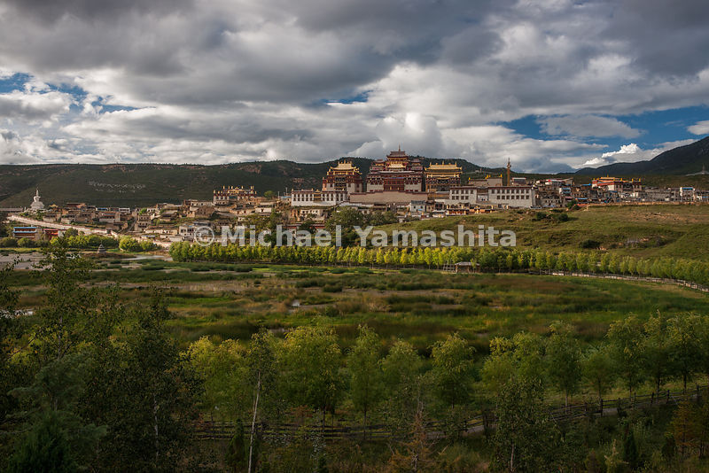 "Sumzanling Monastery in today's Shangri-La (formerly Zhongdian): In words that could describe it today, James Hilton wrote, ""..."