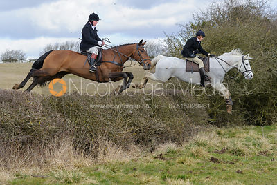 The Cottesmore Hunt at Ladywood Lodge 3/3
