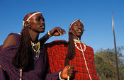 Maasai warriors, Longido, Tanzania