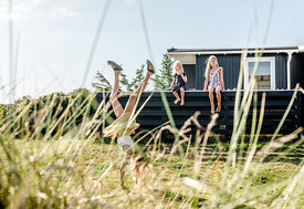 Danish girls at a summer house in Klitmøller 2