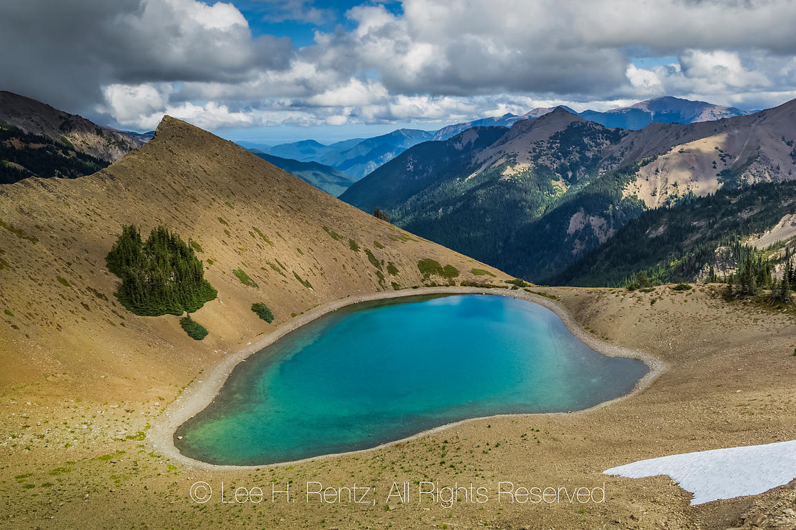 Tarn near Obstruction Point in Olympic National Park