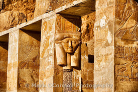 Wall carving at Edfu   12