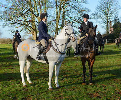 The Cottesmore Hunt at Pickwell Manor 29/12