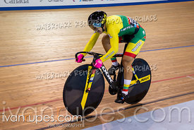 Women's Sprint Qualification. Track Cycling World Cup Milton, October 27, 2018
