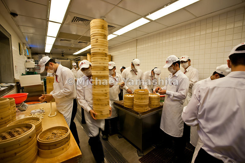 Taipei's #1 restaurant, Michelin stared, Din Tai Fung, famous for it's Shanghai style dumplings. Branches worldwide including...
