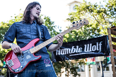 David Albertson, bass, Humble Wolf