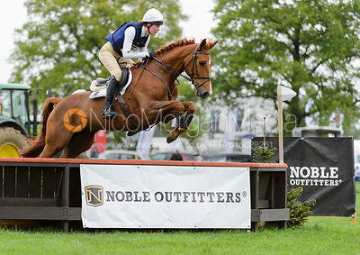 Willa Newton and MOANGARRIFF DUKE - Rockingham International Horse Trials 2017