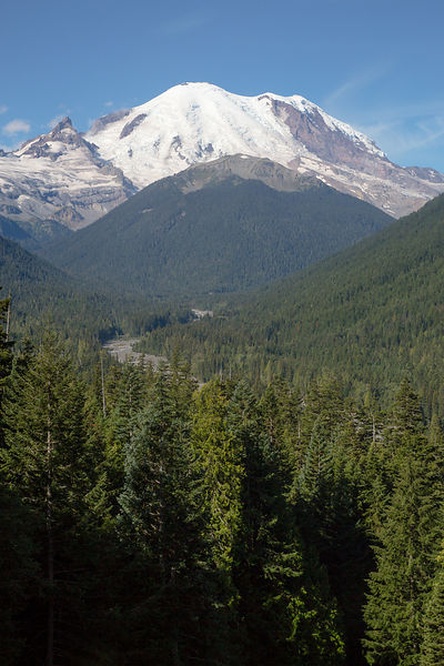 Mount Rainier from East Side Overlook