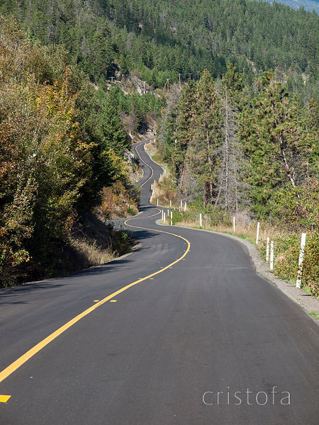 Westside Highway from Kelowna to Vernon