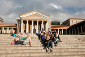 Students at UCT, University of Cape Town, South Africa