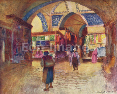 Grand Bazaar by Warwick Goble