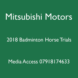 2018 Mitsubishi Motors Badminton Horse Trials
