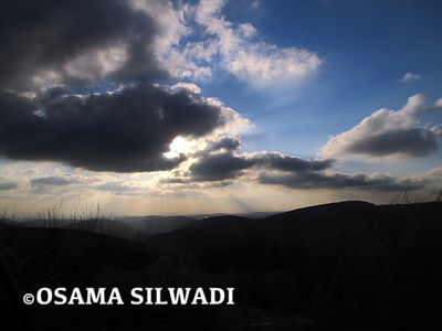 Nature of Palestine - Sky