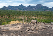Rugged scenery, Niassa Game Reserve, Mozambique
