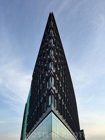 Bow of a ship or an office building?