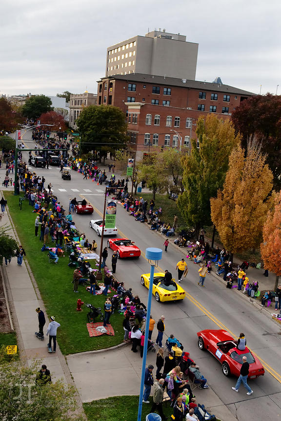P-C U of Iowa Homecoming Parade, October 10, 2014