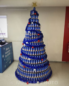 Beer Christmastree