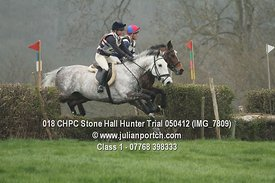 Class 1 - Stone Hall Hunter Trial 2012