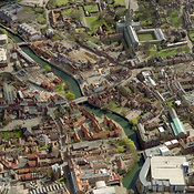 City center, Norwich